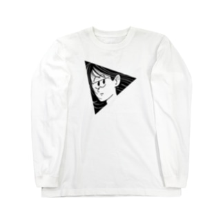 TRIANGLE GIRL Long sleeve T-shirts