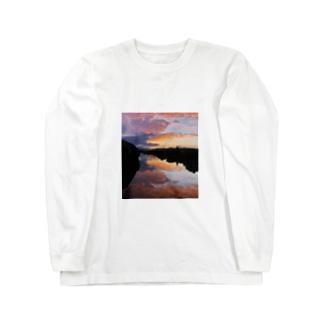 IRUMA_River TOYOMIZU Long sleeve T-shirts