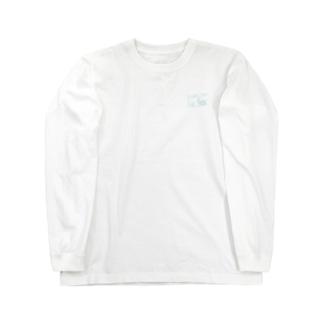long t / parlor she, side blue Long sleeve T-shirts