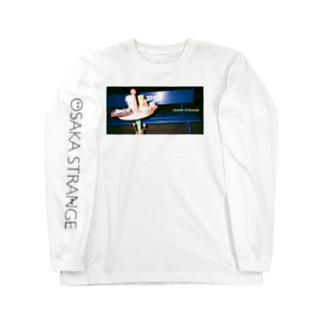 OSAKA   STRANGE Long sleeve T-shirts