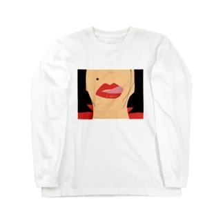 ペロリン Long sleeve T-shirts