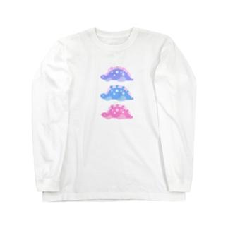 ステゴ三兄弟 Long sleeve T-shirts