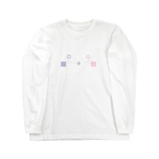 ΔΩPEAN -LOVEsquare- Long sleeve T-shirts