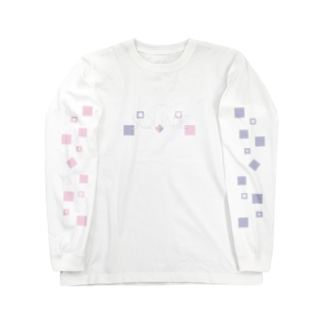 ΔΩPEAN -LOVEsquare- Long sleeve T-shirts