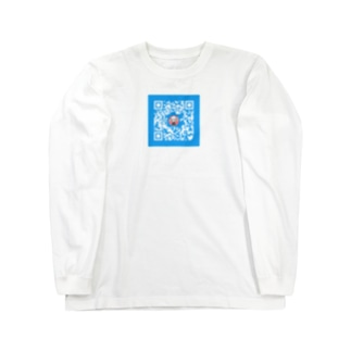 QRみこと2 Long sleeve T-shirts