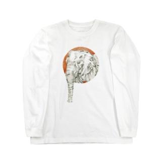 ぱお太郎 Long sleeve T-shirts