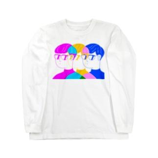 ナイスなグラス Long sleeve T-shirts