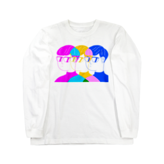 iebのしょっぷのナイスなグラス Long sleeve T-shirts