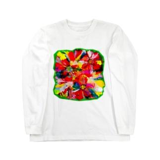 恋のなか Long sleeve T-shirts