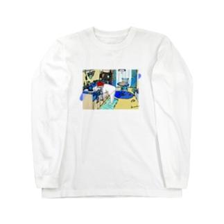 ねことわたしとわたしのお部屋 Long sleeve T-shirts