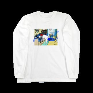 kameのねことわたしとわたしのお部屋 Long sleeve T-shirts