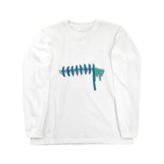 縫い目 Long sleeve T-shirts