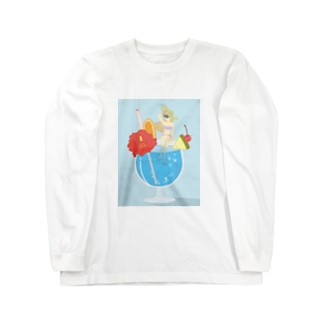TROPICAL♡GIRL Long sleeve T-shirts