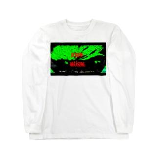 ラクガキ antisync Long sleeve T-shirts
