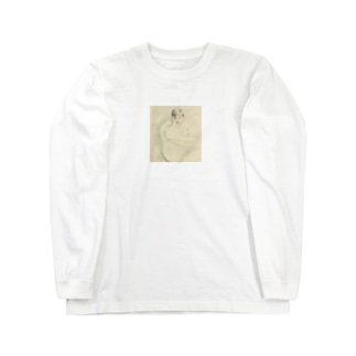 """Child  leaning elbow"" L/S Tee Long sleeve T-shirts"