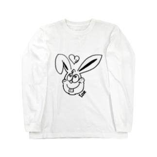 Love Rabbit Long sleeve T-shirts