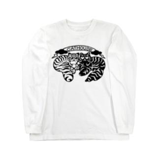 CATHOUSE 黑 Long sleeve T-shirts