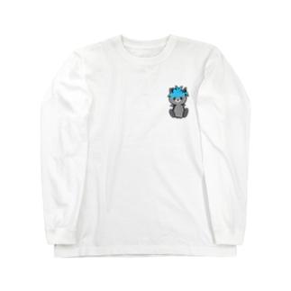 ロシアンウルフ Long sleeve T-shirts