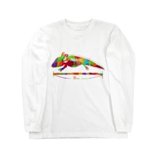 15センチ Long sleeve T-shirts