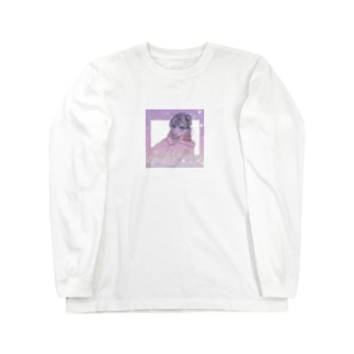 キラキラ 女の子 Long sleeve T-shirts