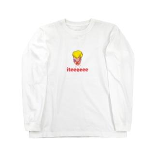 初恋タローiteeeeee Long sleeve T-shirts