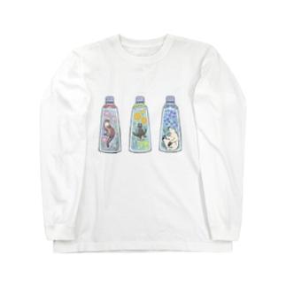 ハーバリウム×いきもの Long sleeve T-shirts
