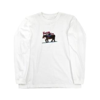 旅に出よう Long sleeve T-shirts