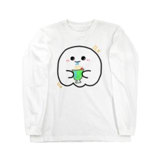 んまま!!ごしし Long sleeve T-shirts