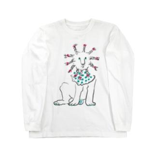 Braided lion Long sleeve T-shirts