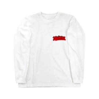 グラフィティロゴ Long sleeve T-shirts