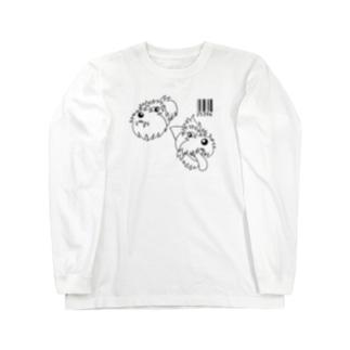 25396黒 Long sleeve T-shirts