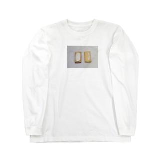 今日のおやつ Long sleeve T-shirts