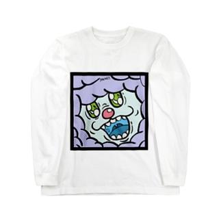 ハヌマーン フィアーフェイス Long sleeve T-shirts