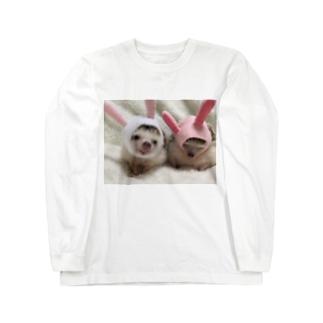 仲良し姉妹 Long sleeve T-shirts
