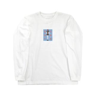 ミニスカート Long sleeve T-shirts