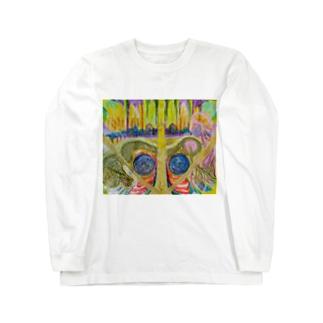 光と祈り Long sleeve T-shirts