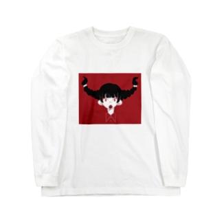 みつあみちゃん Long sleeve T-shirts