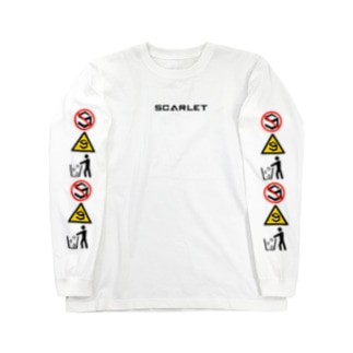 SCARLET  SIGNALS Long sleeve T-shirts