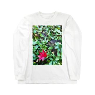 モミジ Long sleeve T-shirts