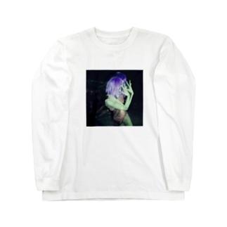 purple Long sleeve T-shirts