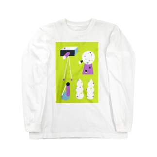 drawing 04 Long sleeve T-shirts