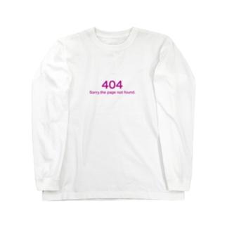 サイトが見つかりません Long sleeve T-shirts