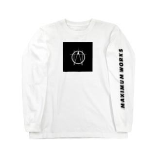 Maximum ロゴ Long sleeve T-shirts