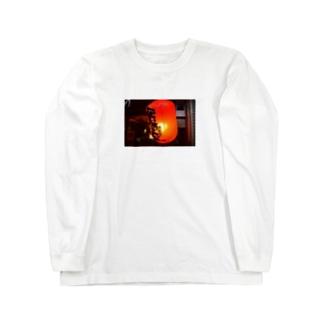 赤提灯 Long sleeve T-shirts