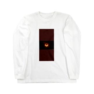 Black  hole Long sleeve T-shirts