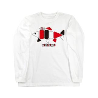 NISHIKIGOI Long sleeve T-shirts