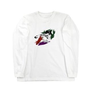 吸愛 Long sleeve T-shirts