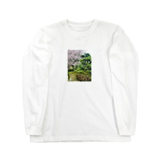 さくら Long sleeve T-shirts