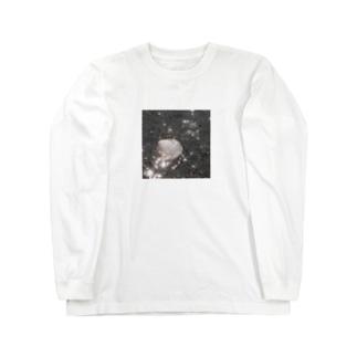 海と貝と Long sleeve T-shirts