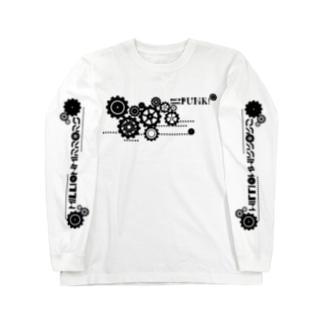 BLACK GEAR(両面) Long sleeve T-shirts